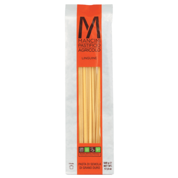 Linguine, Pasta Mancini, Italien, Hartweizennudeln, lang