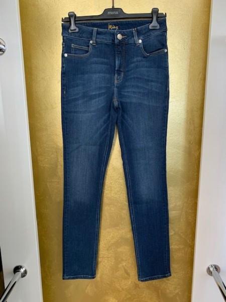 Skinny-Jeans mit heller Waschung von Minx