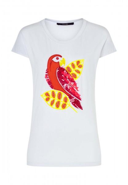 T-shirt von Laurel mit aufwendiger Stickerei