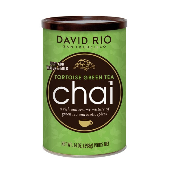 David Rio Chai Tortoise Green Tea 398g-Dose