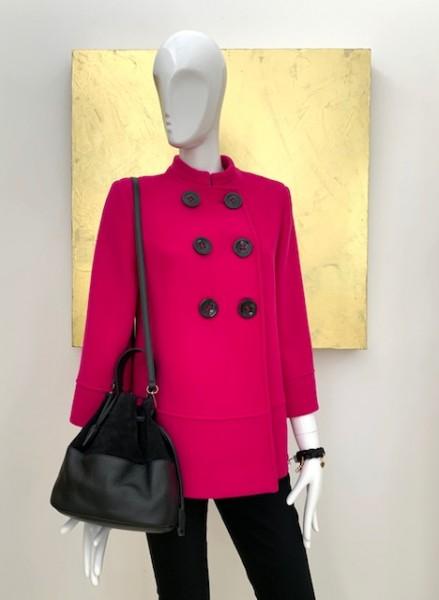 Kurzer Mantel (pink)