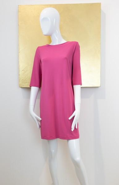 Éclà Kleid mit Rückenausschnitt pink