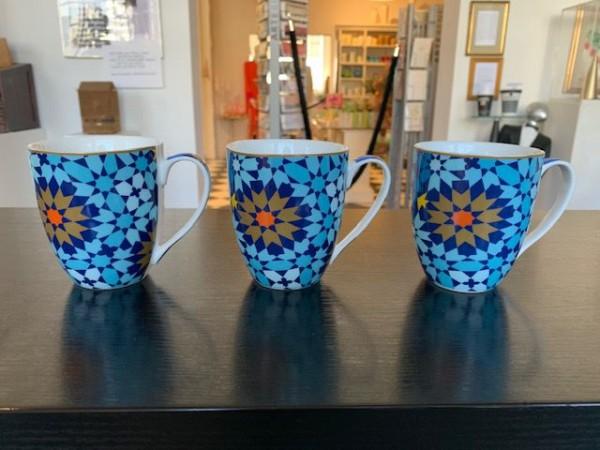 Tasse in blau von Images d´ Orient