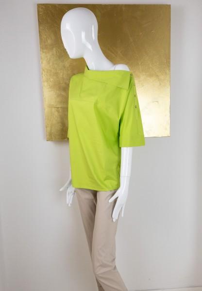 Bluse grün kurz Éclà