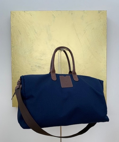 Bottle Bag von Roeckl blau/braun