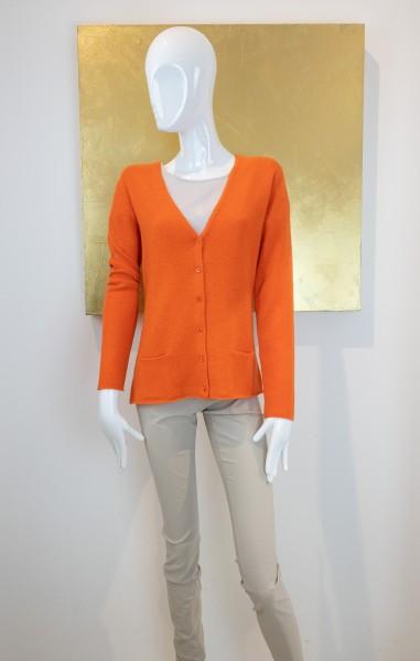 FFC Strickjacke Orange