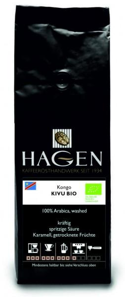 Kongo Kivu Bio 250g-Packung