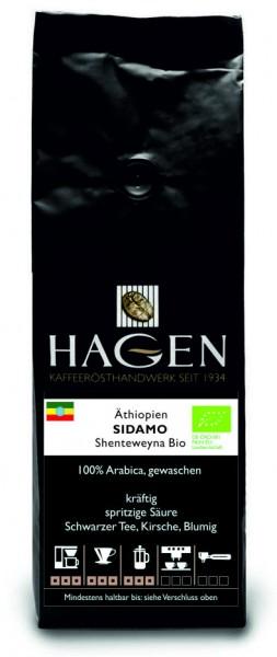 Äthiopien Sidamo Shenteweyna Bio 250g-Packung