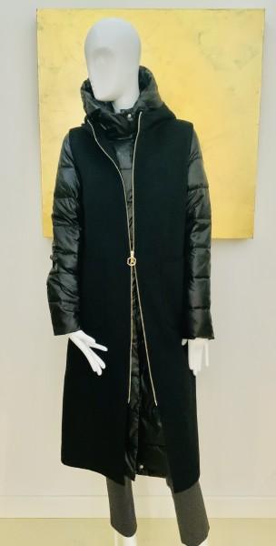 HOX Winterjacke schwarz zweiteilig
