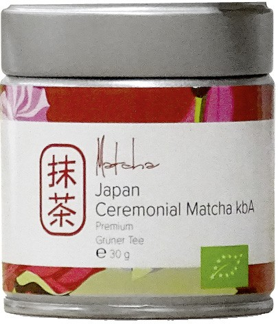 Japan Ceremonial Matcha Premium kbA 30g-Dose