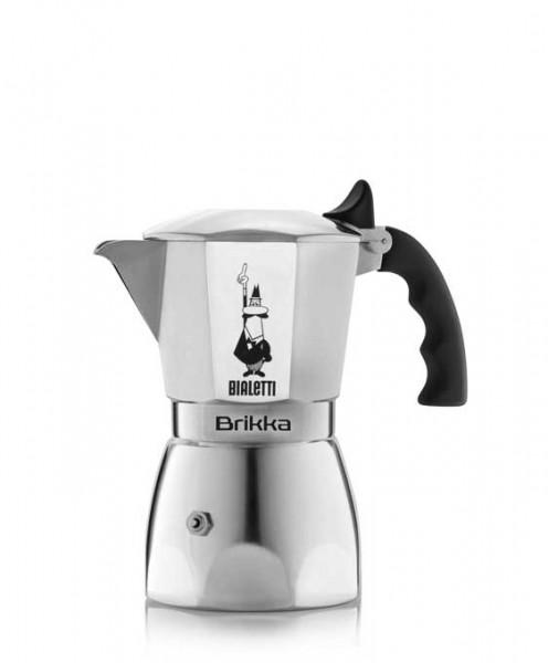 Bialetti Espressokocher Brikka Elite 4 Tassen