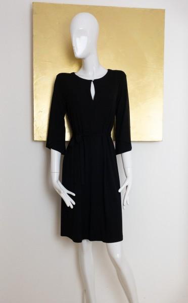 Minx Kleid schwarz mit Gürtel