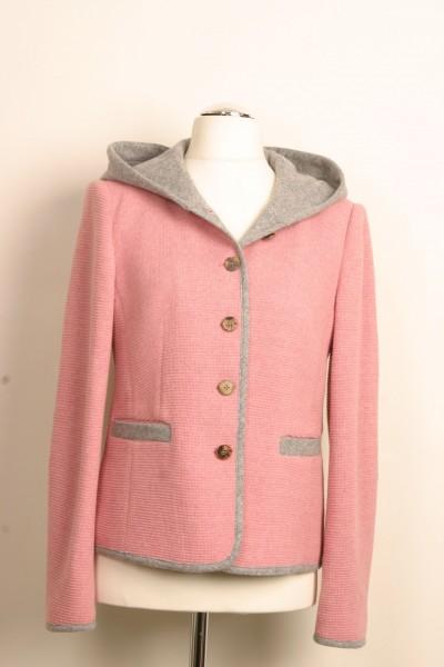 Jacke (rosa/grau)