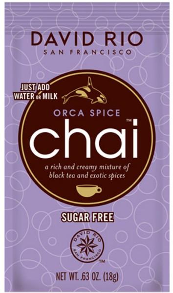 David Rio Chai Orca Spice Zuckerfrei (18g-Beutel)