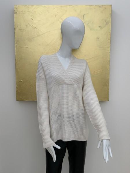 HERZEN´S ANGELEGENHEIT Pullover Strick Weiß