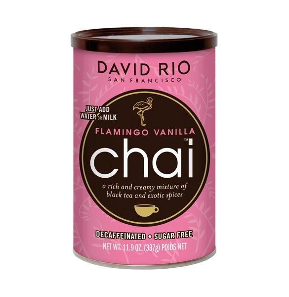 David Rio Chai Flamingo Vanille zuckerfrei und entkoffeiniert 337g-Dose