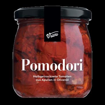 Pomodori - Halbgetrocknete Tomaten aus Apulien