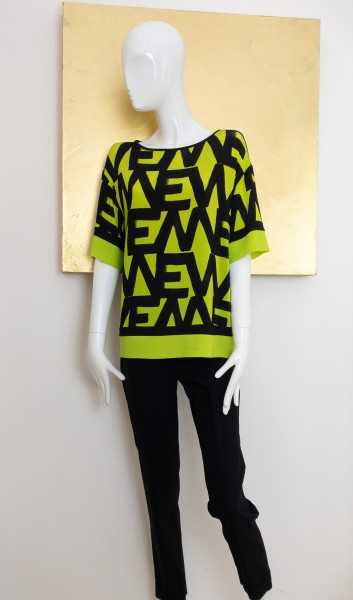 Éclà Shirt grün Print