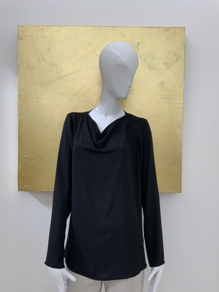 Minx Pullover schwarz langarm