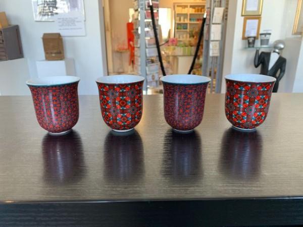 Kleine Tasse in rot von Images d´ Orient