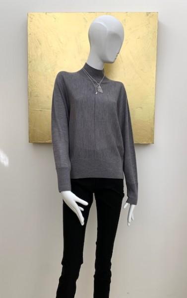 Schlichte Hose (schwarz / grau)