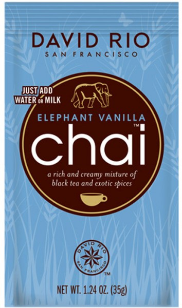 David Rio Chai Elephant Vanilla (28g-Beutel)