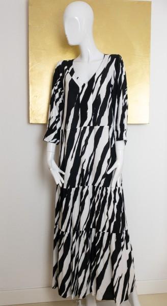 Minx Kleid schwarz/weiß