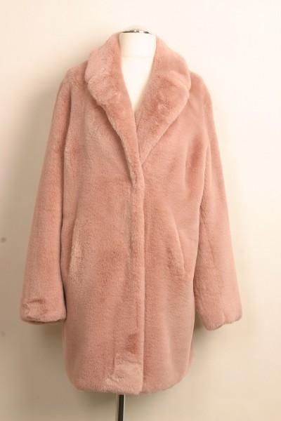 Kuscheliger Mantel (rosa) Größe 40