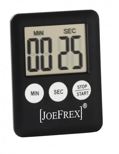 Tea Timer JoeFrex schwarz mit Batterie