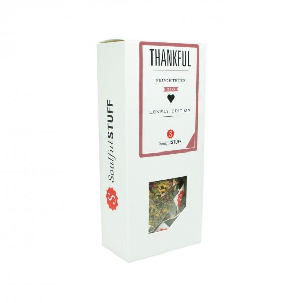 Soulful Stuff Früchte-Tee Thankful Bio 15 Btl. à 3g