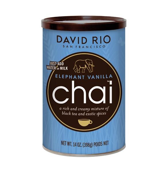 David Rio Chai Elephant Vanilla 398g-Dose