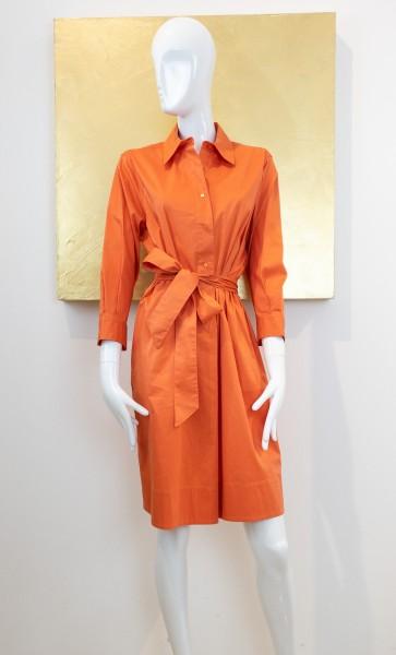 FFC Blusenkleid orange