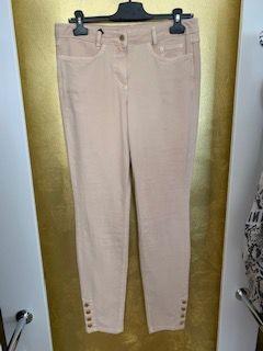 Jeans mit Knöpfen in beige von Marc Aurel