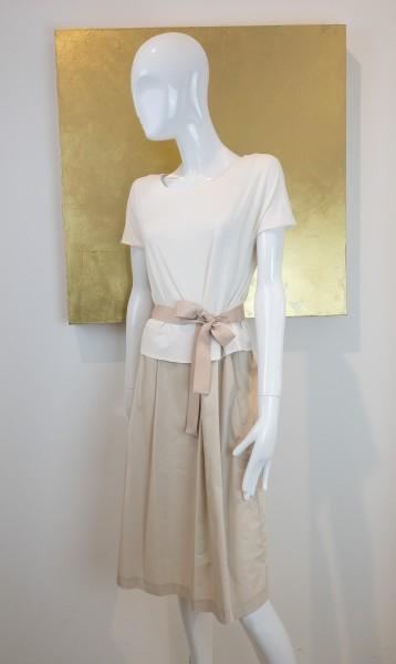 FFC Kleid weiß/beige